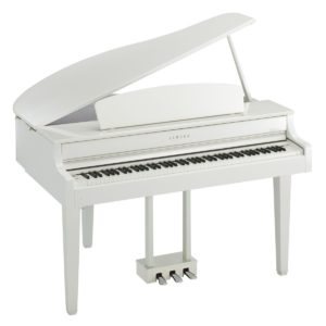 Yamaha CLP 665 Digital Grand Piano Polished White
