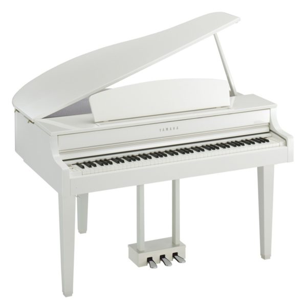Yamaha CLP 665 Digital Grand Piano Polished White