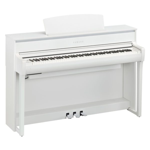 Yamaha CLP 675 Digital Piano White