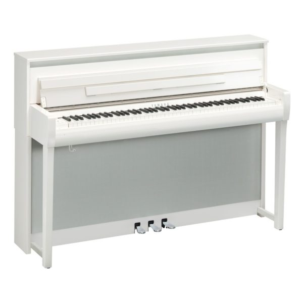 Yamaha CLP 685 Digital Piano Polished White