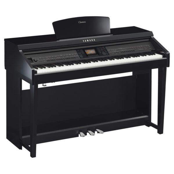 Yamaha CVP 701 Clavinova Digital Piano Polished Ebony