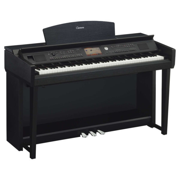 Yamaha CVP 705 Clavinova Digital Piano Black Walnut