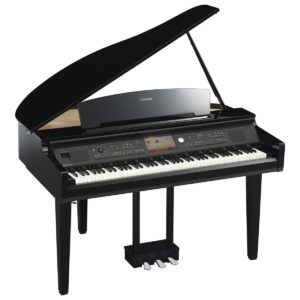 Yamaha CVP 709 Clavinova Digital Grand Piano Polished Ebony