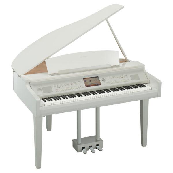 Yamaha CVP 709 Clavinova Digital Grand Piano Polished White