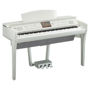 Yamaha CVP 709 Clavinova Digital Piano Polished White