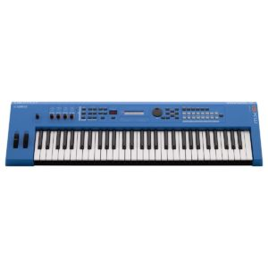 Yamaha MX61 II Music Production Synthesizer Blue