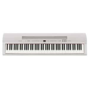 Yamaha P255 Lightweight Digital Piano White