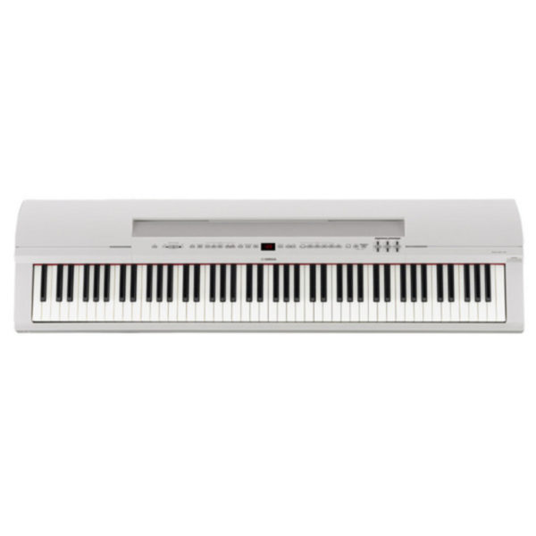 Yamaha P255 Lightweight Digital Piano White
