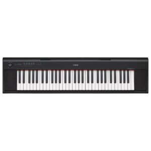 Yamaha Piaggero NP12 Portable Digital Piano Black