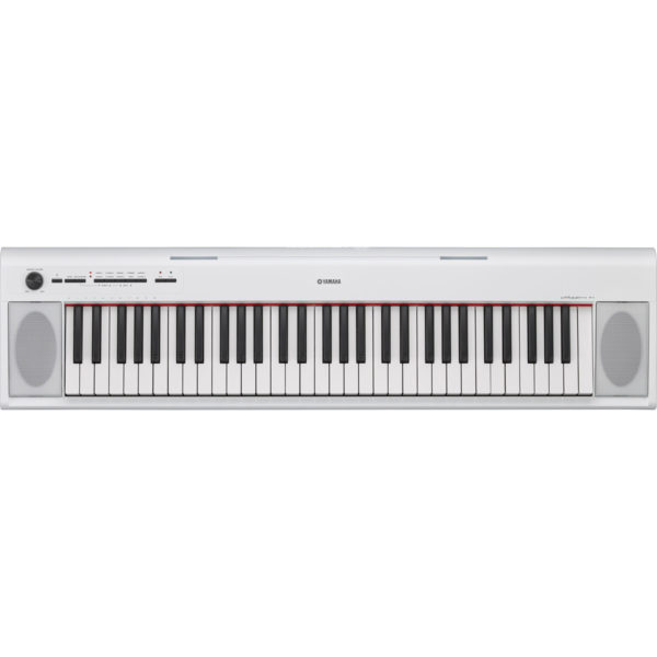 Yamaha Piaggero NP12 Portable Digital Piano White