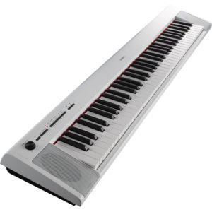 Yamaha Piaggero NP32 Portable Digital Piano White