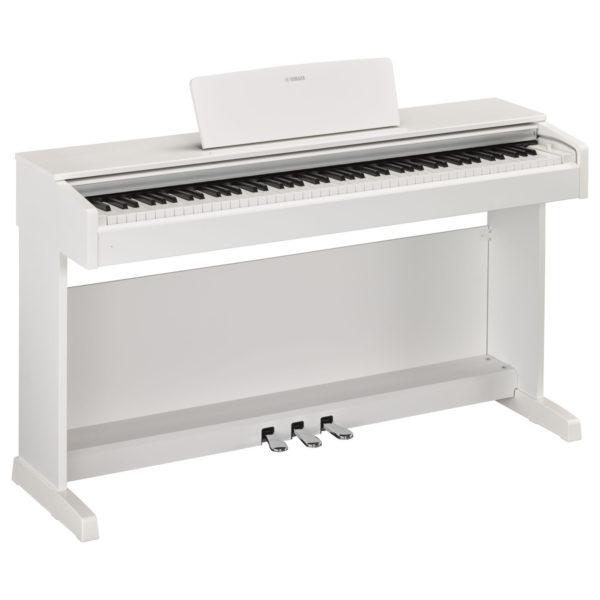 Yamaha YDP 143 Digital Piano Matte White