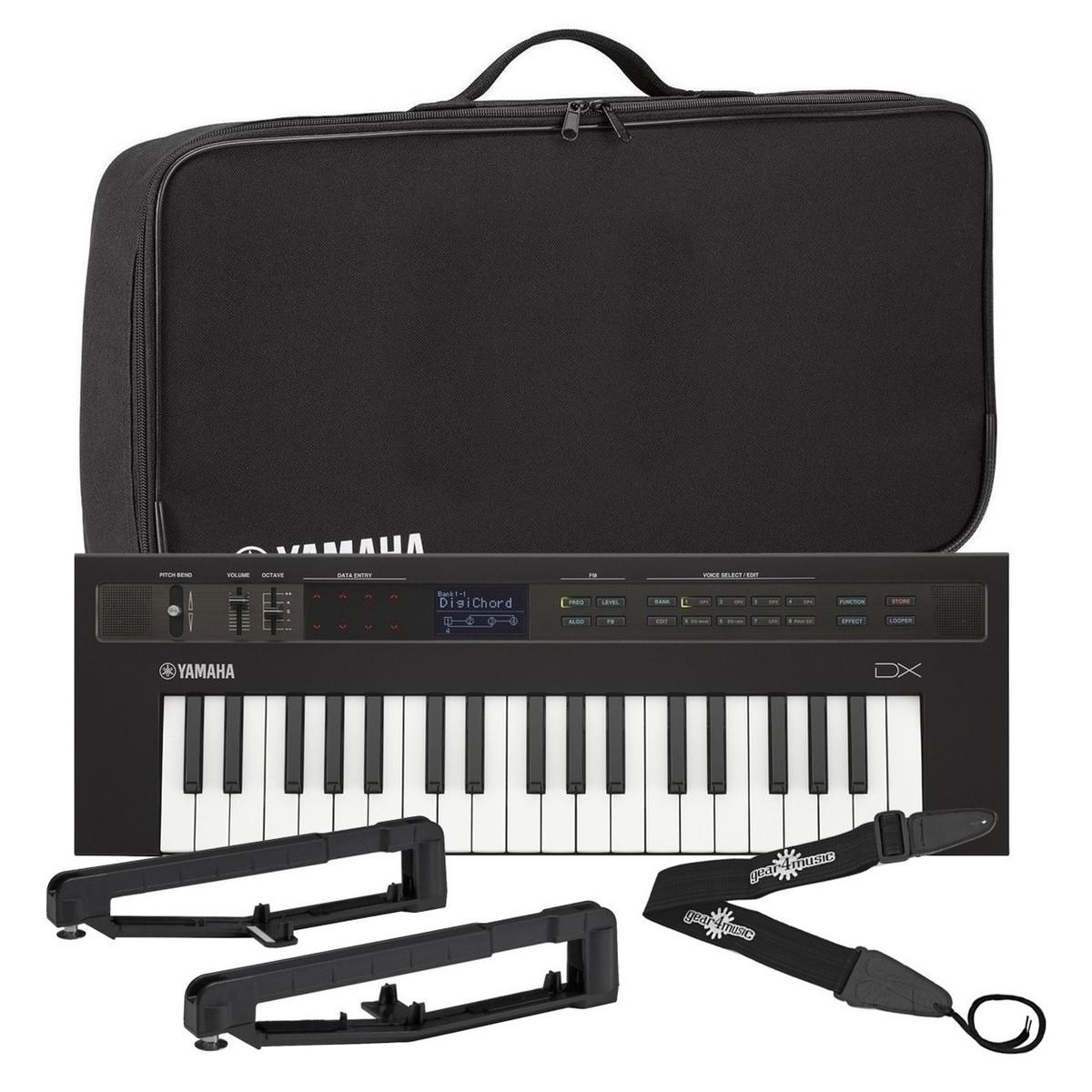 Yamaha reface DX Synthesizer With Yamaha Bag And Strap Kit