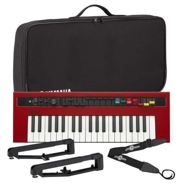 Yamaha reface YC Combo Organ With Yamaha Bag & Strap Kit